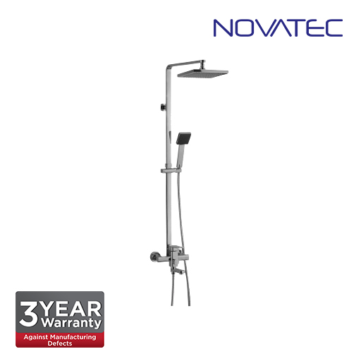 Novatec Shower post with exposed bath shower mixer, 8