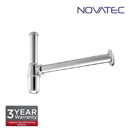 Novatec 32mm Brass Chome Bottle Trap BBT-3201-B