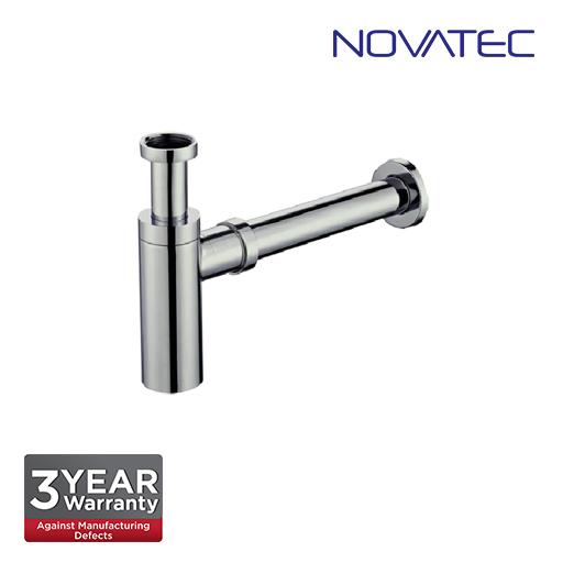 Novatec 32mm Stainless Steel 304 Matt Finish Bottle Trap BBT-32DR-SS