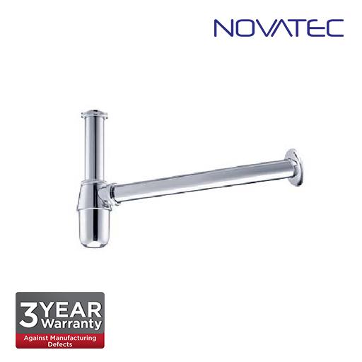 Novatec 40mm Chrome Plated Zinc Alloy Bottle Trap BBT-4001
