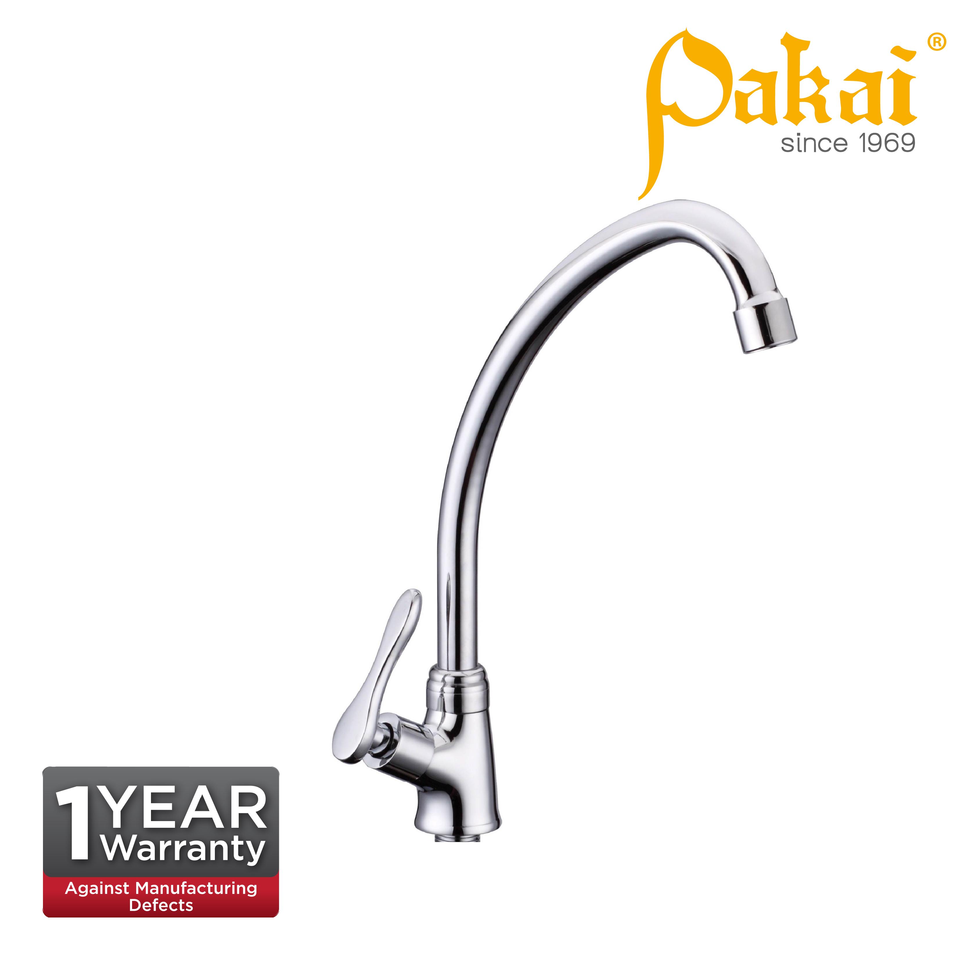Pakai Pillar Ear Spout Sink Tap Curve Series CV52000ES
