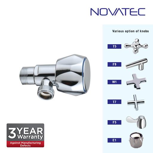Novatec Chrome Plated Angle Valve E1-AV302