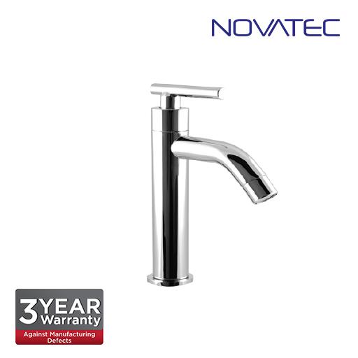 Novatec Chrome Plated Basin Pillar Tap F9-2024