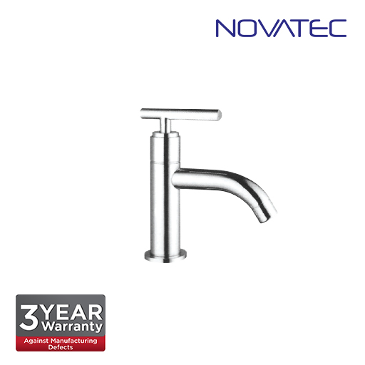 Novatec Chrome Plated Basin Pillar Tap F9-2034