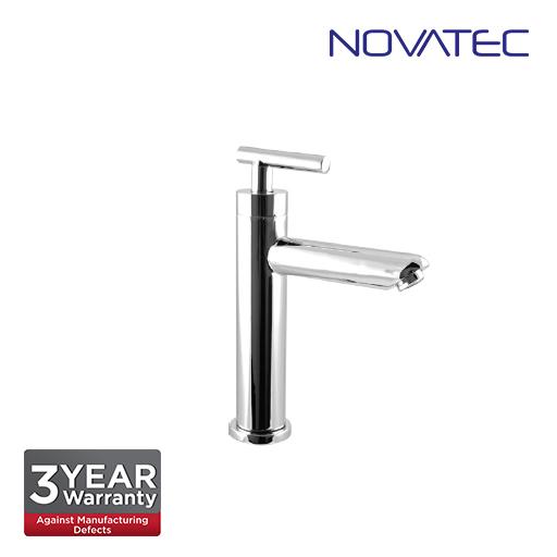 Novatec Chrome Plated Basin Pillar Tap F9-2036