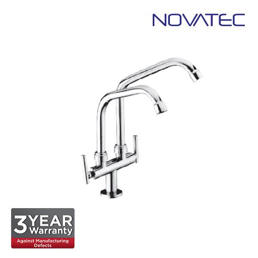 Novatec Kitchen Pillar Sink Tap F9-2055