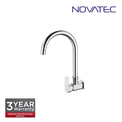 Novatec Single Lever Wall Sink Tap FA2224