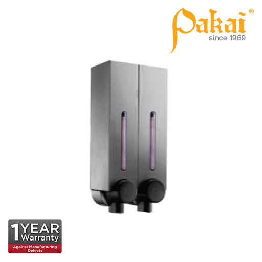 Pakai Liquid Soap Dispenser ABS Dark Grey Coating LSD2502