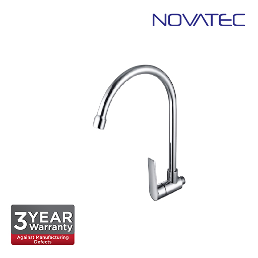 Novatec Wall Sink Tap With Swivel Spout MZs9151