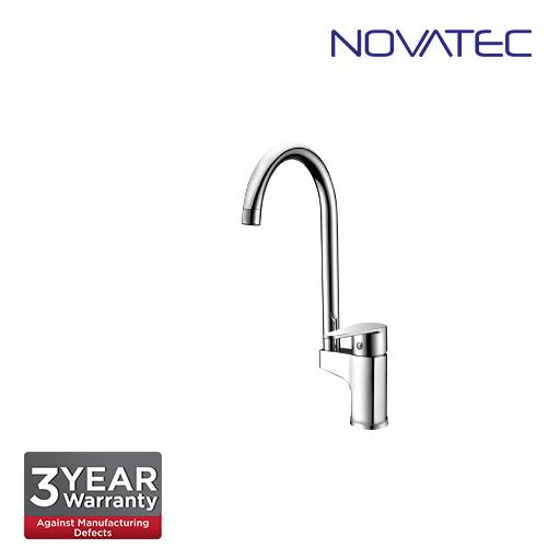 Novatec Single Lever Sink Mixer With Swivel Spout NC20055