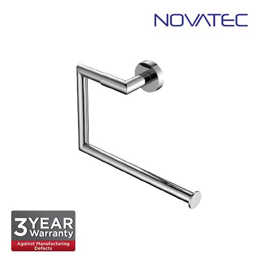 Novatec Chrome Plated Towel Ring NVB3308