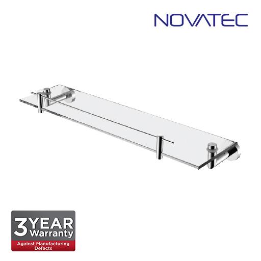 Novatec Chrome Plated Glass Shelf NVB3312