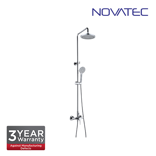Novatec Shower post with exposed mixer, 8
