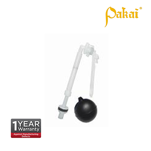 Pakai Bottom Inlet Ball Cock available arm 6 inch P118-6-90