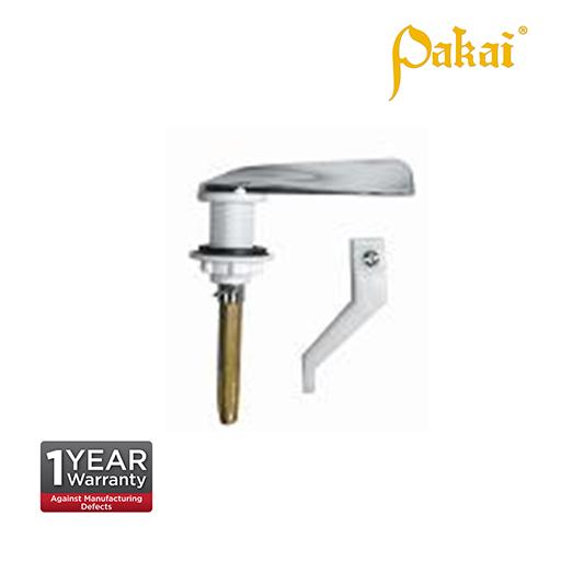 Pakai Chromed Plastic Handle, Brass Rod P205