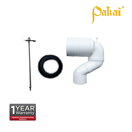 Pakai P to S Adjustable Connector with supporting bar. P 449