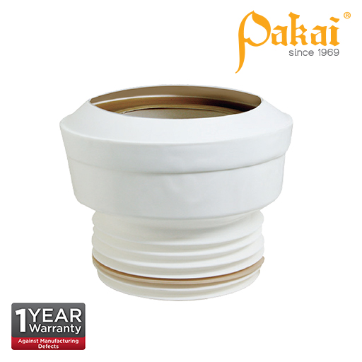 Pakai 4'' (100mm) Water Closet (WC) Straight Outlet Connector