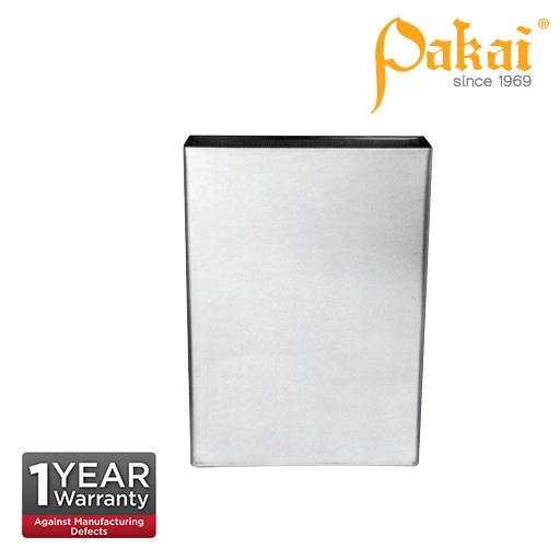 Pakai Stainless Steel Surface-Mounted Waste Receptacle. PK-REC-460