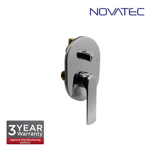 Novatec Single Lever Concealed Shower Mixer With Diverter PN65113