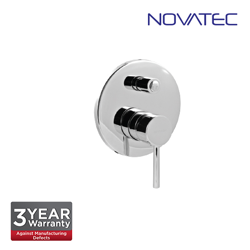 Novatec Chrome Plated Single Lever Concealed Mixer With Diverter RB5013-R