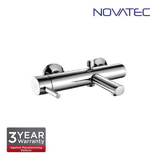 Novatec Chrome Plated Single Lever Exposed Bath Shower Mixer RB5384