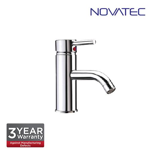 Novatec Chrome Plated Single Lever Basin Mixer RB5664