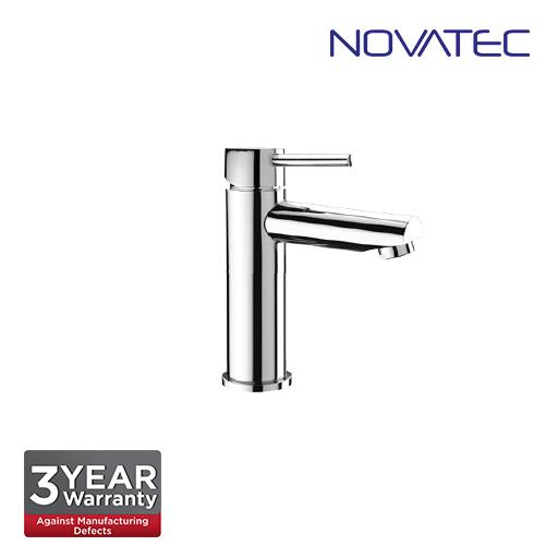 Novatec Chrome Plated Single Lever Basin Mixer RB5666