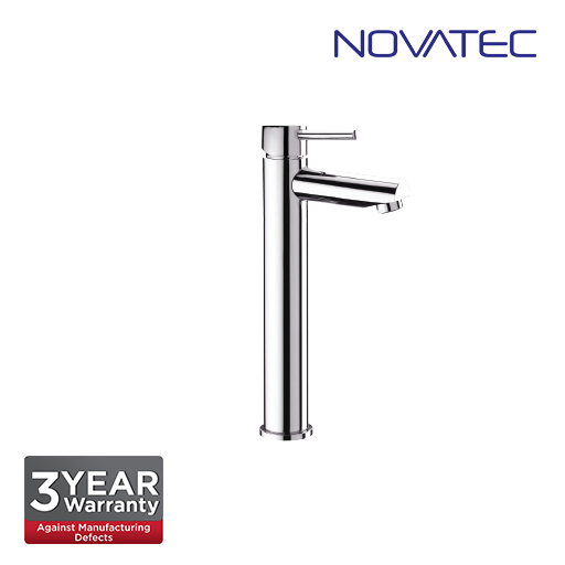 Novatec Chrome Plated Single Lever Tall Basin Mixer RB5666-T
