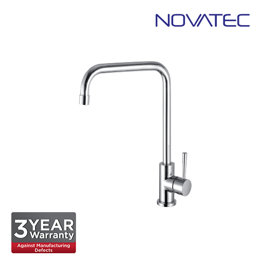 Novatec Chrome Plated Pillar Sink Tap RC5071Sq
