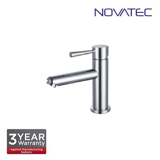 Novatec Chrome Plated Basin Pillar Tap RC5087S