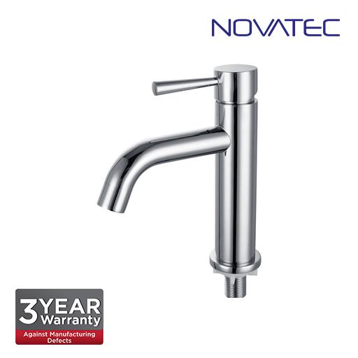Novatec Chrome Plated Basin Pillar Tap RC5088