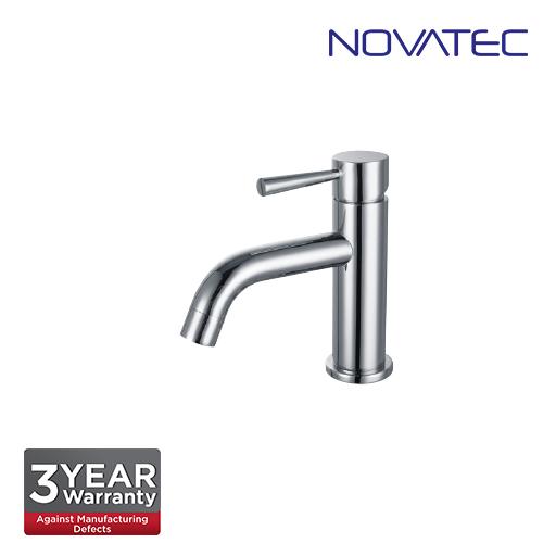 Novatec Chrome Plated Basin Pillar Tap RC5088S