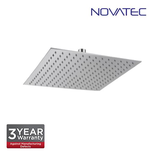 Novatec Stainless Steel Chrome Slim Rain Shower Head  SSRS-Q12