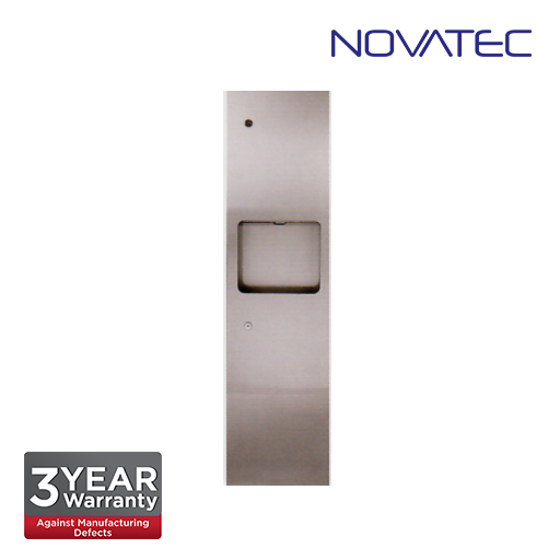 Novatec Stainless Steel 2 In 1 Surface Mounted Paper Dispenser SS-PTD1200-E