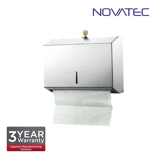 Novatec Stainless Steel Paper Towel Dispenser SS-PTD-203-S