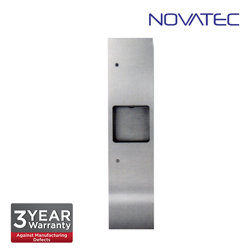 Novatec Stainless Steel 2 In 1 Recess Mounted Paper Dispenser SS-REC-PTD-1400S