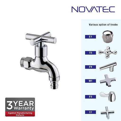 Novatec Chrome Plated Hose Bibtap T7-1115A