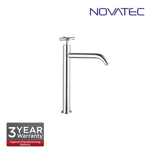 Novatec Chrome Plated Console Basin Tap T7-2034-T