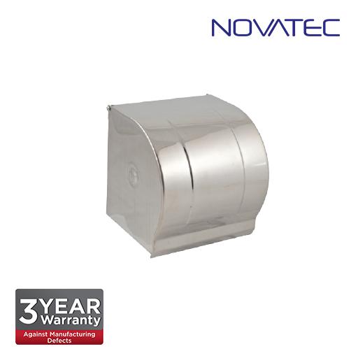 Novatec Stainless Steel Suface Mount Anti-Splash Toilet Roll Holder TPH9900