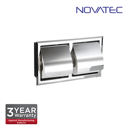 Novatec Stainless Steel In-Wall Paper Holder TPH-A119
