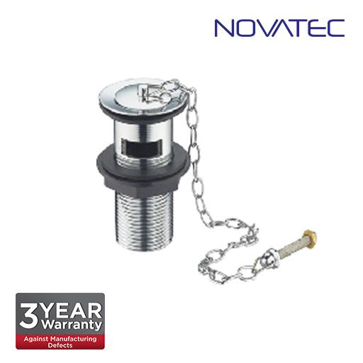 Novatec 32mm Basin Waste With Plug & Chain WPC725